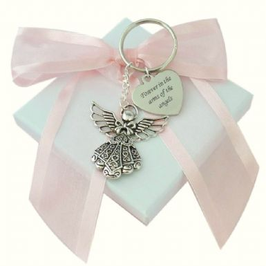 Guardian Angel, Personalised Keyring | Someone Remembered